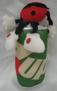 Advertising Collectibles - 7 Up Spot Plush with 7-Up Can