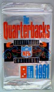 National Football League - NFL 1991 Dominos Pizza NFL Quarterback Challenge Trading Cards