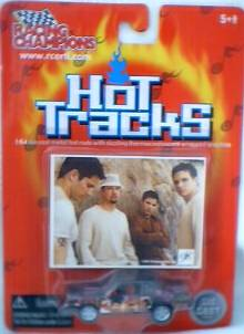 Rock and Roll Collectibles - 98 Degrees Diecast Cars