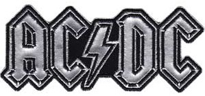 Rock and Roll Collectibles - AC/DC Logo Iron On Patch