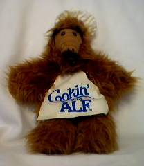 Television Characters Collectibles - ALF - Alien Life Form - Alf Hand Puppet Cookin' with Alf