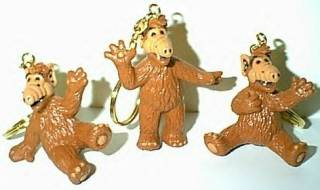 Television Characters Collectibles - ALF - Alien Life Form - Hey Lucky - Hah! I Kill Me! Keyrings and Keychains