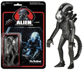 Movie Characters - Metallic Alien ReAction Figure