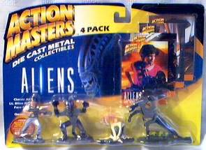 Movie Characters - Aliens Diecast Figure Set
