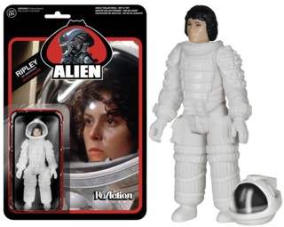 Movie Characters - Alien Spacesuit Ripley ReAction Figure