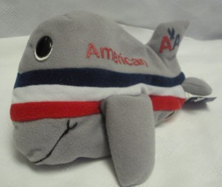 Advertising Collectibles - American Airlines AAiron Plane Plush Beanie