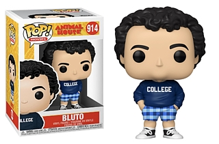 80's Movie Characters Collectibles - John Belushi as Bluto in Animal House College Sweatshirt POP! Vinyl