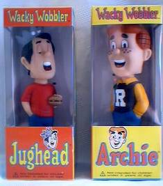 Archie Comic Collectibles - Archie and Jug head bobblehead dolls nodders