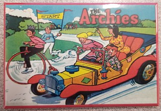 Archie Comic Collectibles - Archies Gang Metal Car Magnet
