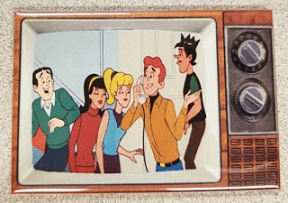 Archie Comic Collectibles - Archies Gang Metal TV Magnet
