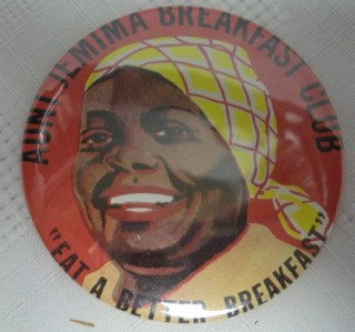 Advertising Collectibles - Aunt Jemima Pocket Mirror