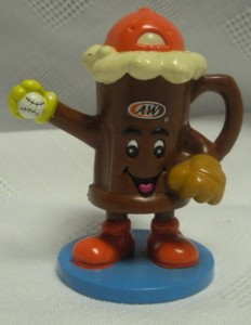 A & W Collectibles - Root Beer Mug Baseball Figure