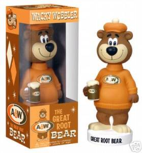 A & W Collectibles - Root Beer Bobblehead Doll, Nodder