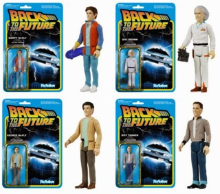 80's Movie Collectibles - Back to the Future Mart McFly ReAction Figure