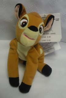 Disney Movie Collectibles - Bambi Beanie