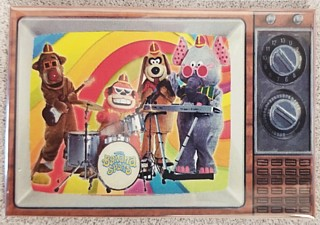 Hanna Barbera Collectibles - Banana Splits Metal TV Magnet