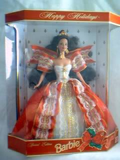1997 Happy Holidays Barbie