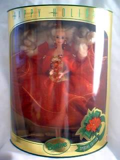 1993 Happy Holidays Barbie