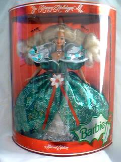 1995 Happy Holidays Barbie