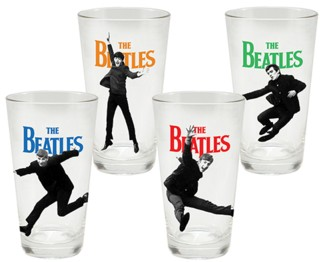The Beatles - Collectible Pint Glasses