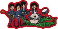 The Beatles - Cartoon Iron On Patch