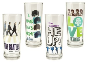 The Beatles - Collectible Glasses