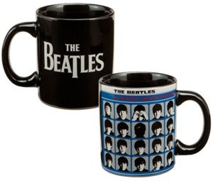 The Beatles - Hard Days Night Ceramic Mug