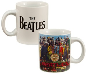 The Beatles - Sgt. Pepper's Lonely Hearts Club Band Ceramic Mug