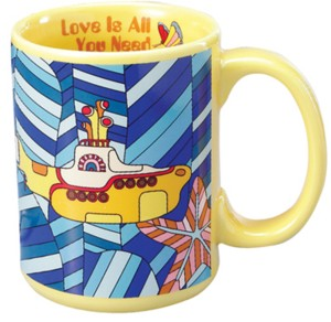 The Beatles - Yellow Submarine Ceramic Mug
