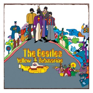 The Beatles - Yellow Submarine Tin Sign