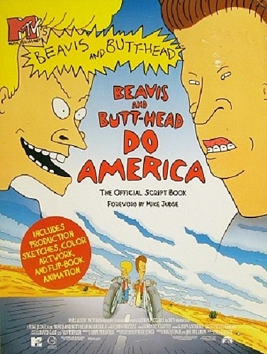 MTV's Beavis and Butthead Collectibles - Beavis and Butthead Do America Book