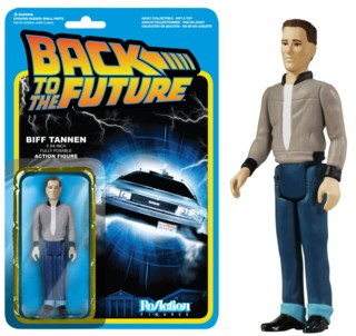80's Movie Collectibles - Back to the Future Biff Tannen ReAction Figure