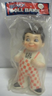 Food Collectibles - Big Boy Vinyl Bank