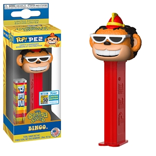 Hanna Barbera Collectibles - Banana Splits San Diego Comic Com Exclusive Bingo Pez by Funko