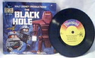 Space Collectibles - Black Hole Record and Book