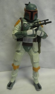 Star Wars Collectibles - Boba Fett Talking Action Figure Room Alarm