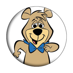Hanna Barbera Collectibles - Boo Boo Bear Pinback Button