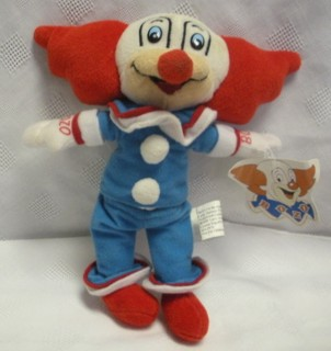 Television Character Collectibles - Bozo The Clown beanbag character