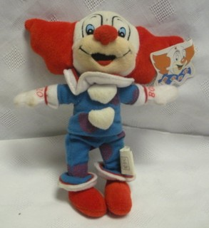 Television Character Collectibles - Bozo The Clown Characther Beanie