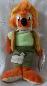 Walt Disney Movie Collectibles - Brer Fox Beanbag Soung of the South