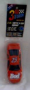 Budweiser Advertising Collectibles - NASCAR Bud Car #25 Bottle Opener