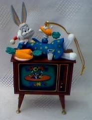 Looney Tunes Collectibles - Bugs Bunny Television Ornament