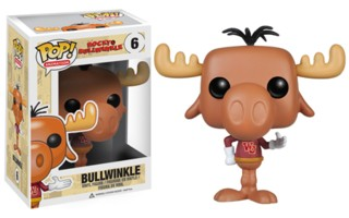 Rocky & Bullwinkle Collectibles - Bullwinkle J Moose Vinyl Figure POP! Animation from Funko