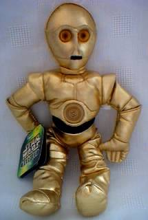 Star Wars Collectibles - C3PO Beanbag Buddy