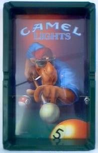 Camel Collectibles - Joe Camel Camel Lights Pool Table Ashtray