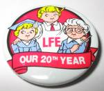Campbells Collectibles - Campbell's LFE Labels For Education Pinback Button