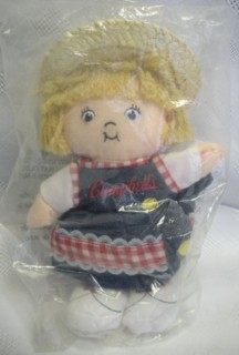Campbells Collectibles - Campbell Kids Girl Plush  Beanie Doll
