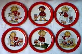 Campbells Collectibles - Campbell Kids Metal Coasters