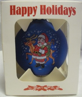 Campbells Collectibles - Campbell Kids 1993 Christmas Ornament