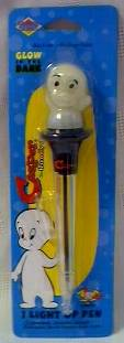 Cartoon Character Collectibles - Casper The Friendly Ghost Glow In The Dark Pen
